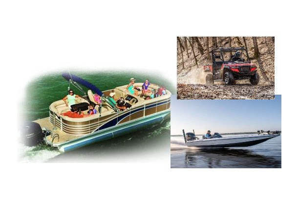 Pontoon-BassBoat-ATV