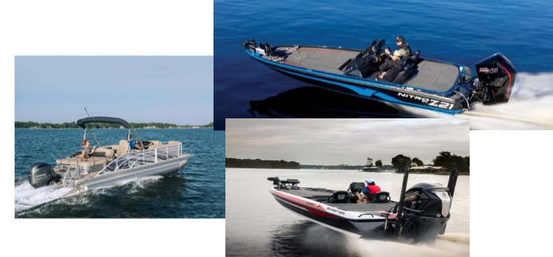 Pontoon and Feshwater Fish boats